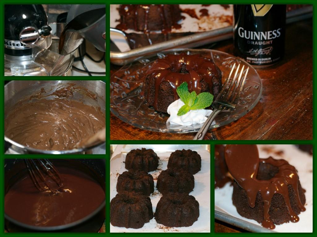 Chocolate Stout BundtCollage