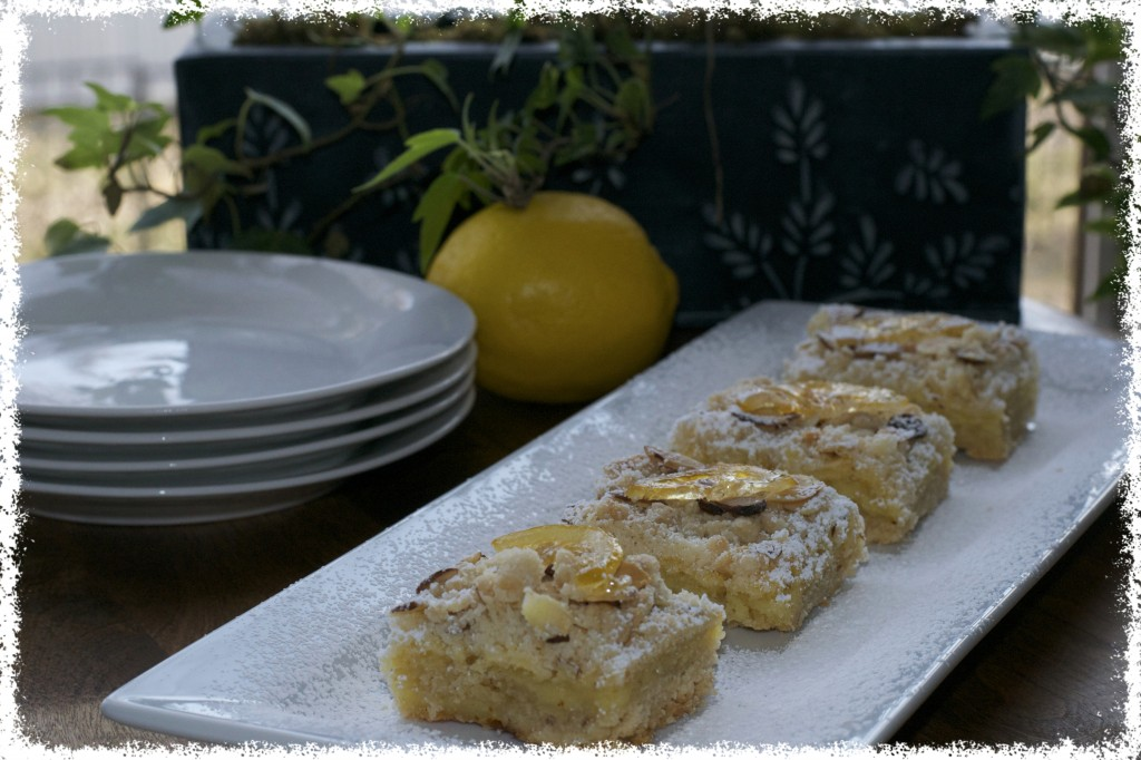 Almond Lemon Bars