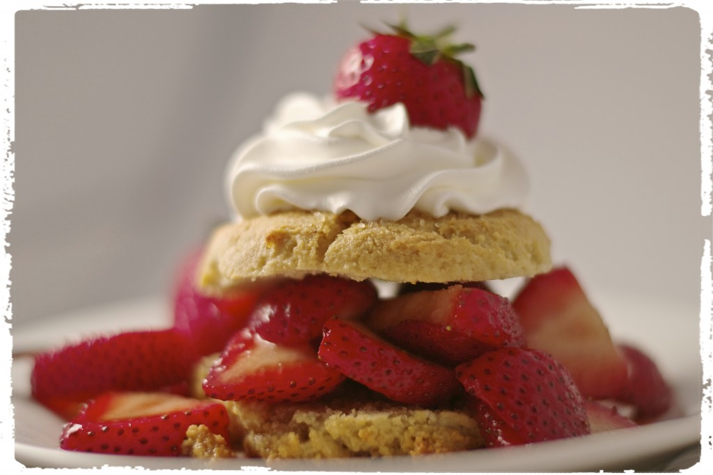 Gluten Free Strawberry Shortcake