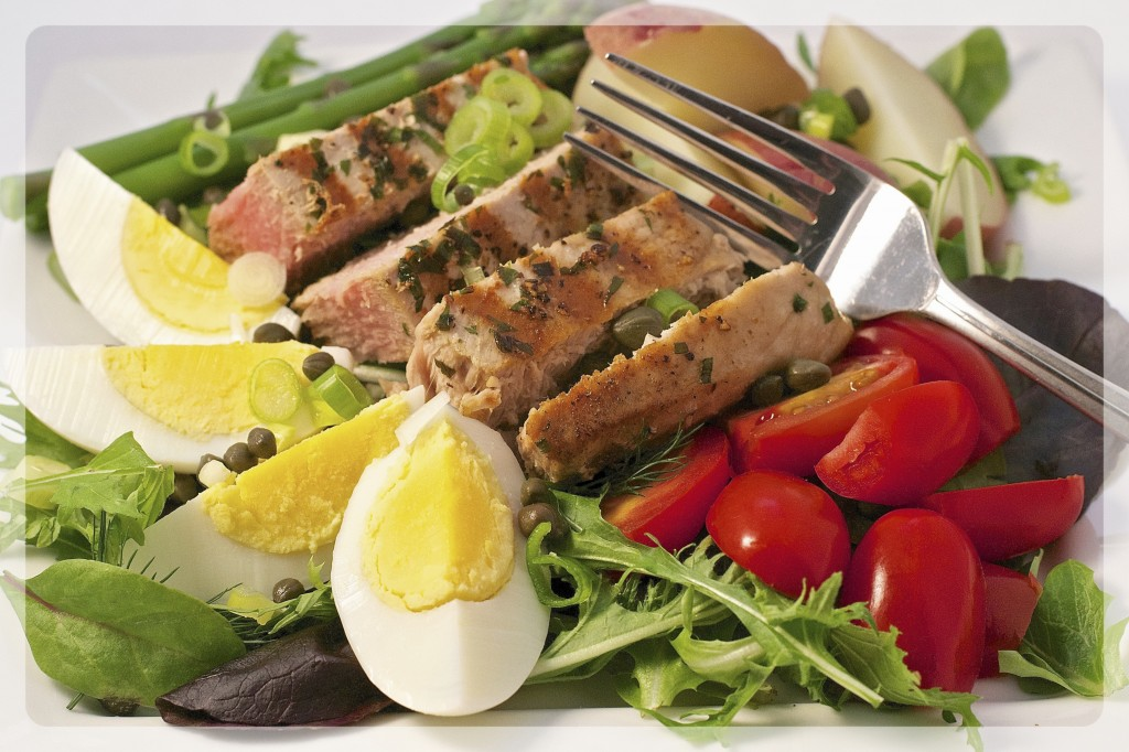 Tuna Salad Nicoise 1