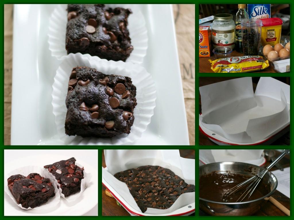 Gluten Free Brownies Collage