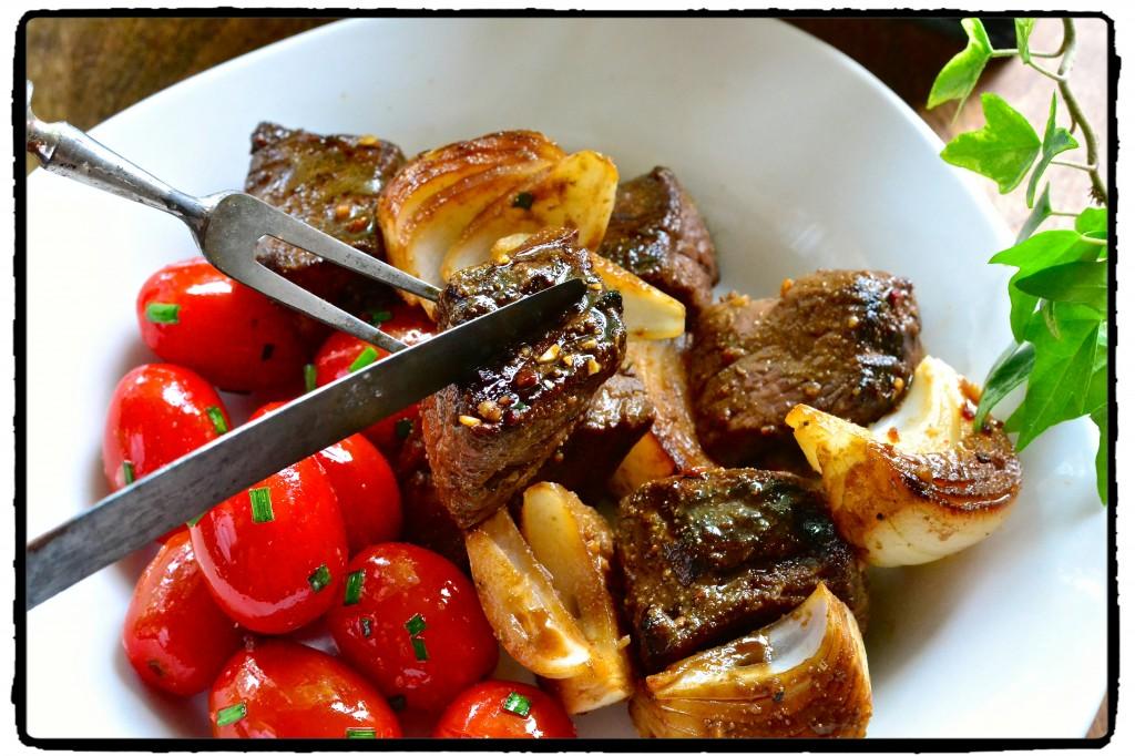 Cumin Beef Kabobs