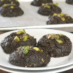 Gluten Free Double Chocolate Pistachio Cookies 1