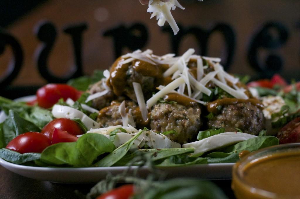Italian Meatball Salad 1