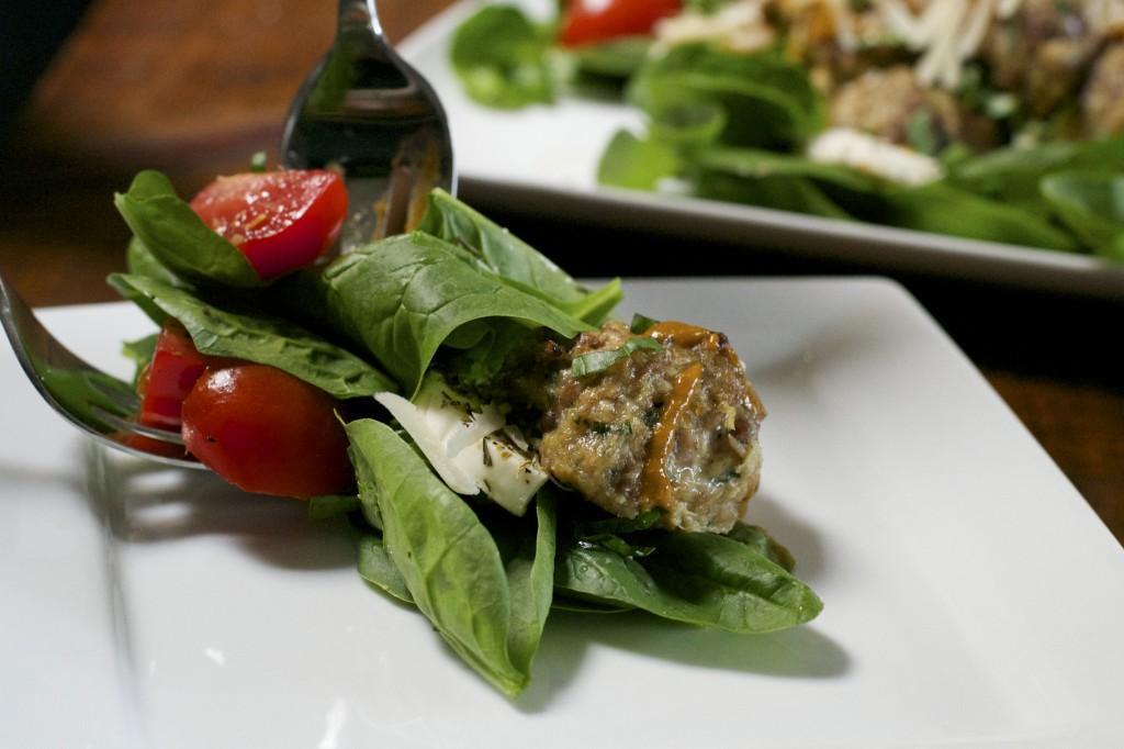 Italian Meatball Salad 2
