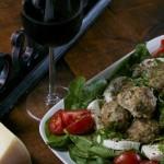 Italian Meatballs Salad