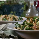 Roasted Peanut Kale Salad