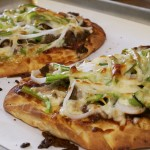 Philly Cheesesteak Flatbread