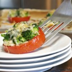 Broccoli Tomato Stacks