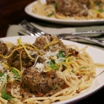 Spicy Chia Chicken Meatball Pasta 1