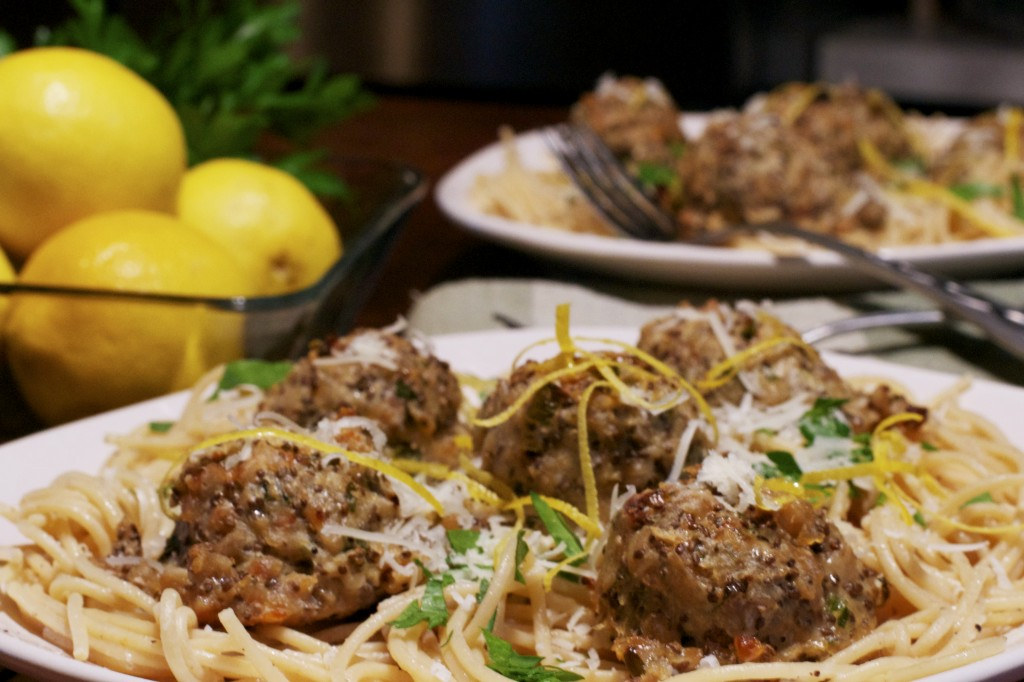 Spicy Chia Chicken Meatball Pasta 2
