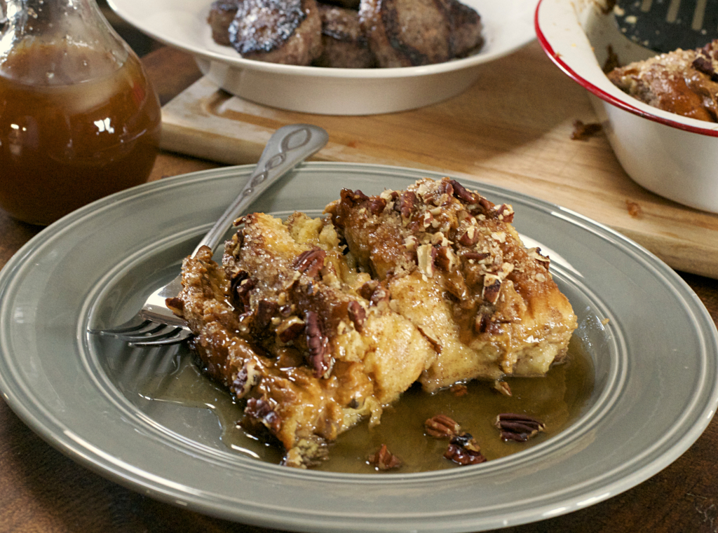Caramel Pecan French Toast