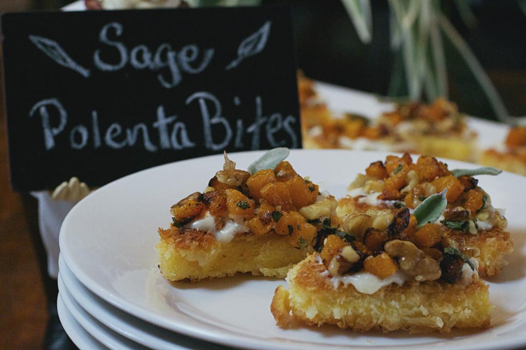 Sage Polenta Bites 1