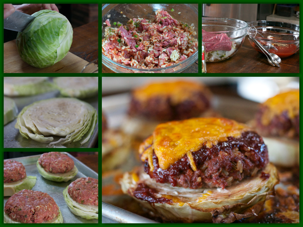 Deconstructed Cabbage Roll Collage