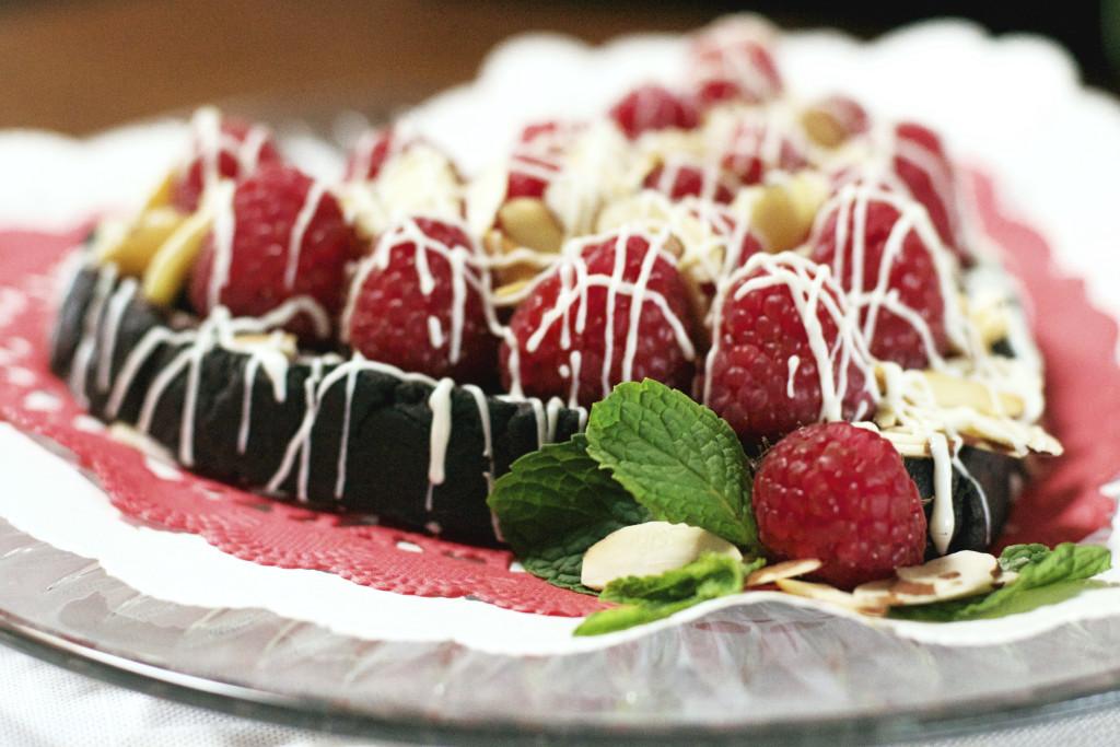 Dark Chocolate Raspberry Cookie 1