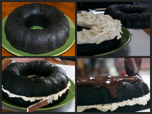 Car Bomb Bundt Collage