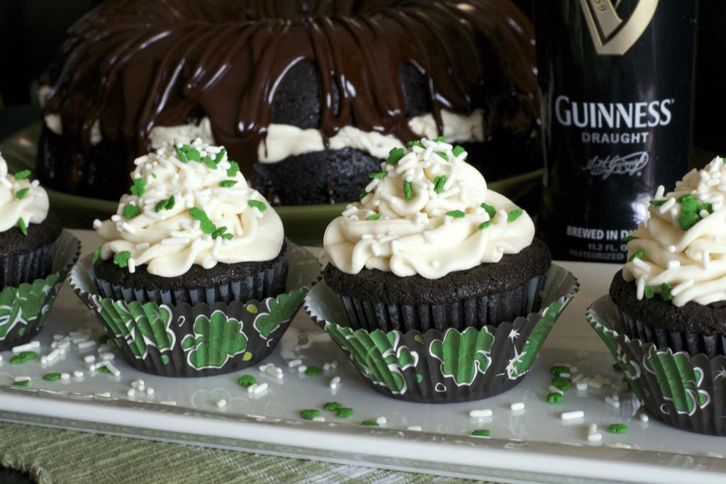 Car Bomb Cupcakes