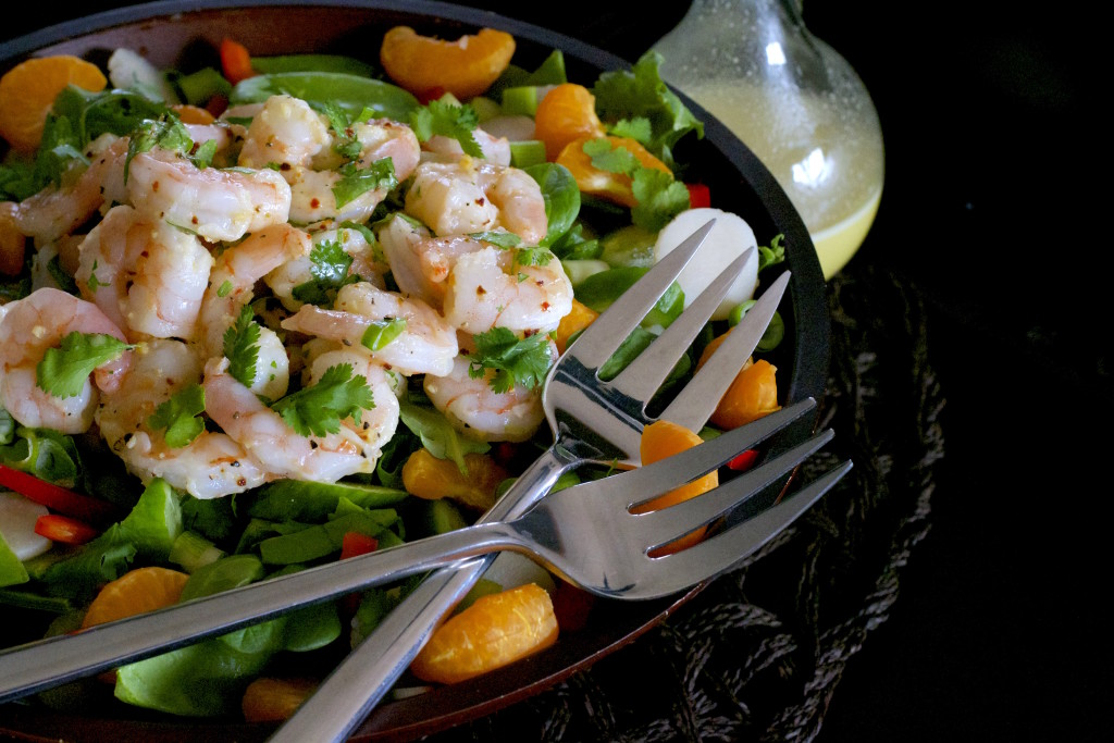 Oriental Shrimp Salad 1