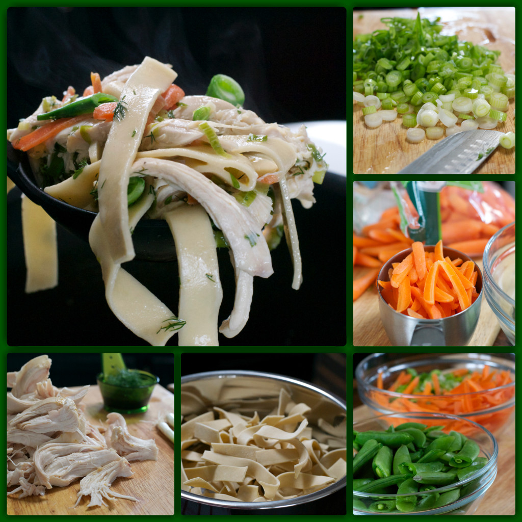 Spring Chicken Soup Collage