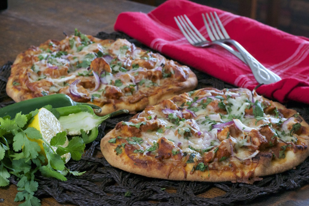 Tikka Naan Pizza