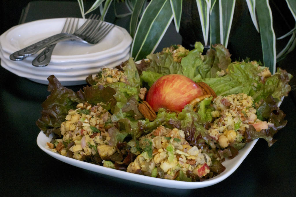 Chickpea Salad With Apples and Pecans 1