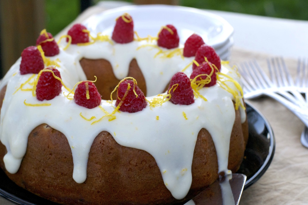 Lemon Raspberry Bundt Cake 4