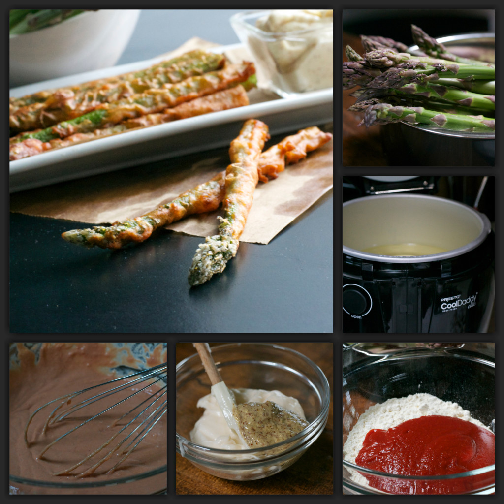 Asparagus Sticks Collage