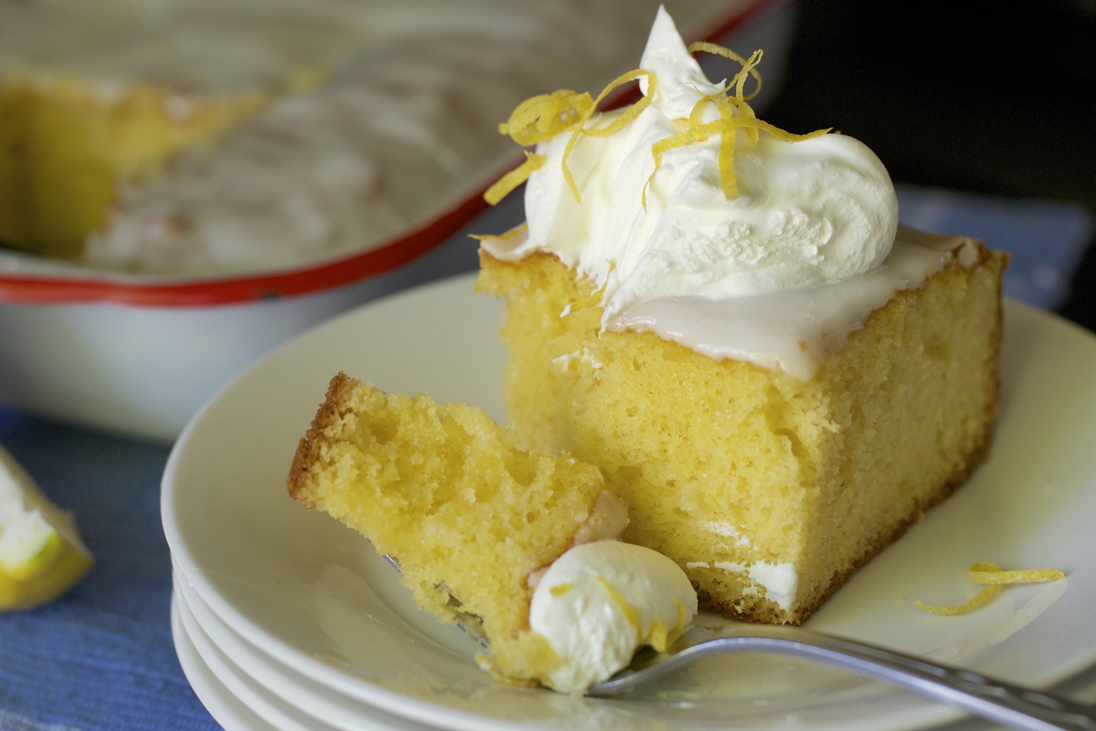 Light Lemon Cake Recipe