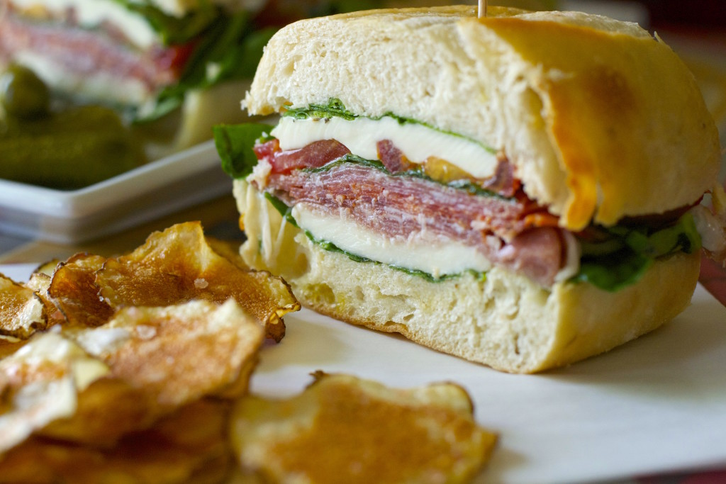 Pressed Italain Picnic Sandwich