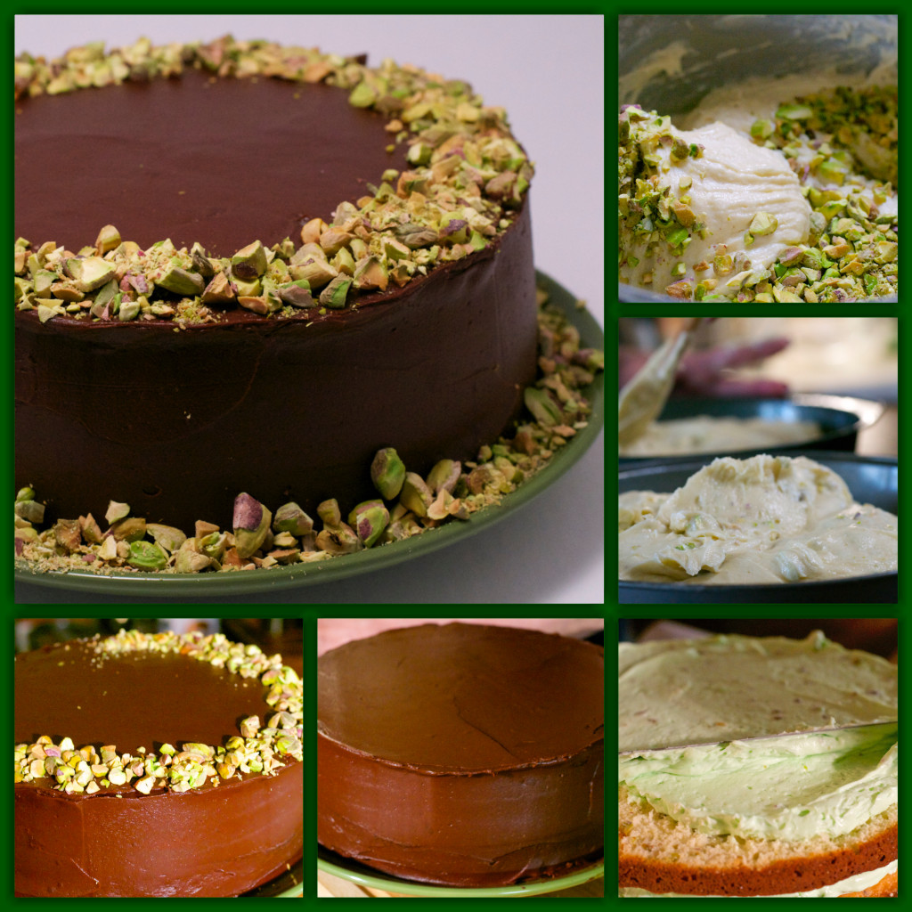 Watergate Ganache Cake Collage