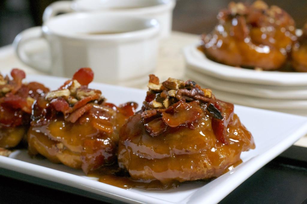 Bacon Maple Sticky Buns