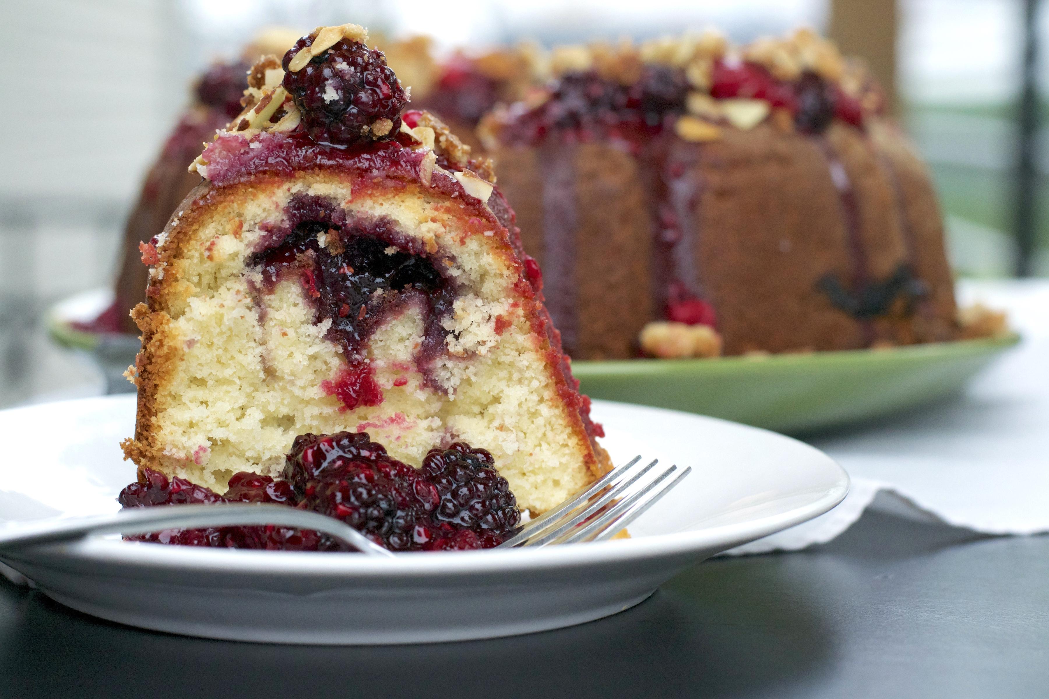 Triple Berry Bundt Cake What the Forks for Dinner