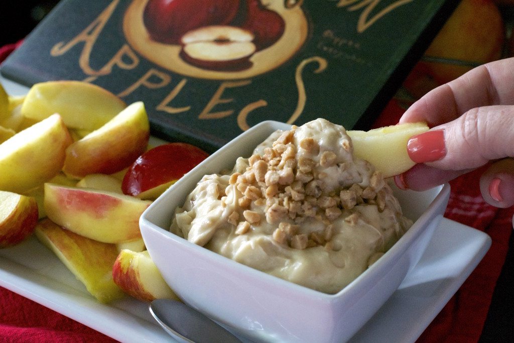 Whipped Toffee Dip and Apples 1