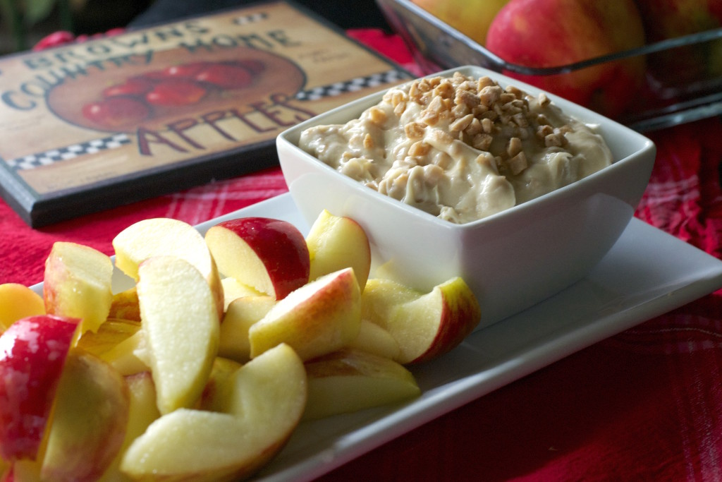 Whipped Toffee Dip and Apples 5