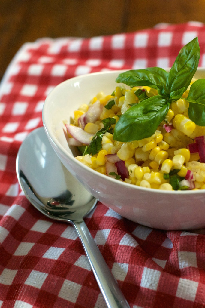 Basil Corn Salad 4