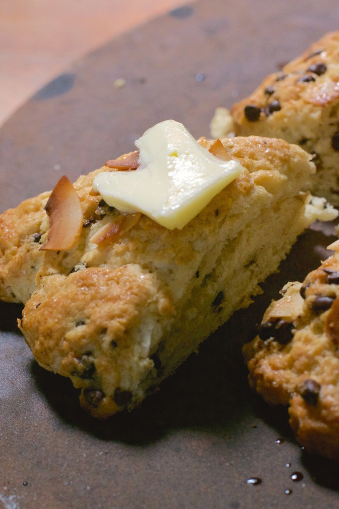 Coconut Chocolate Chip Scones 5