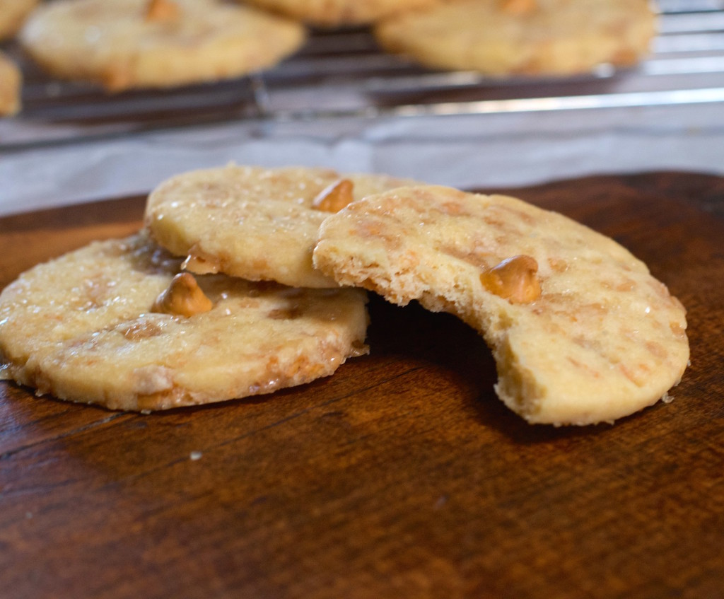 Toffee Butterscotch Shortbread Cookies 4