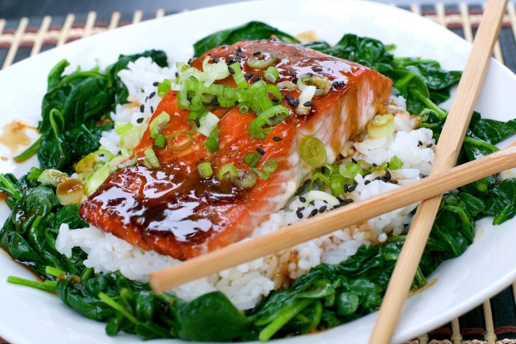 Glazed Salmon Rice Bowl 3