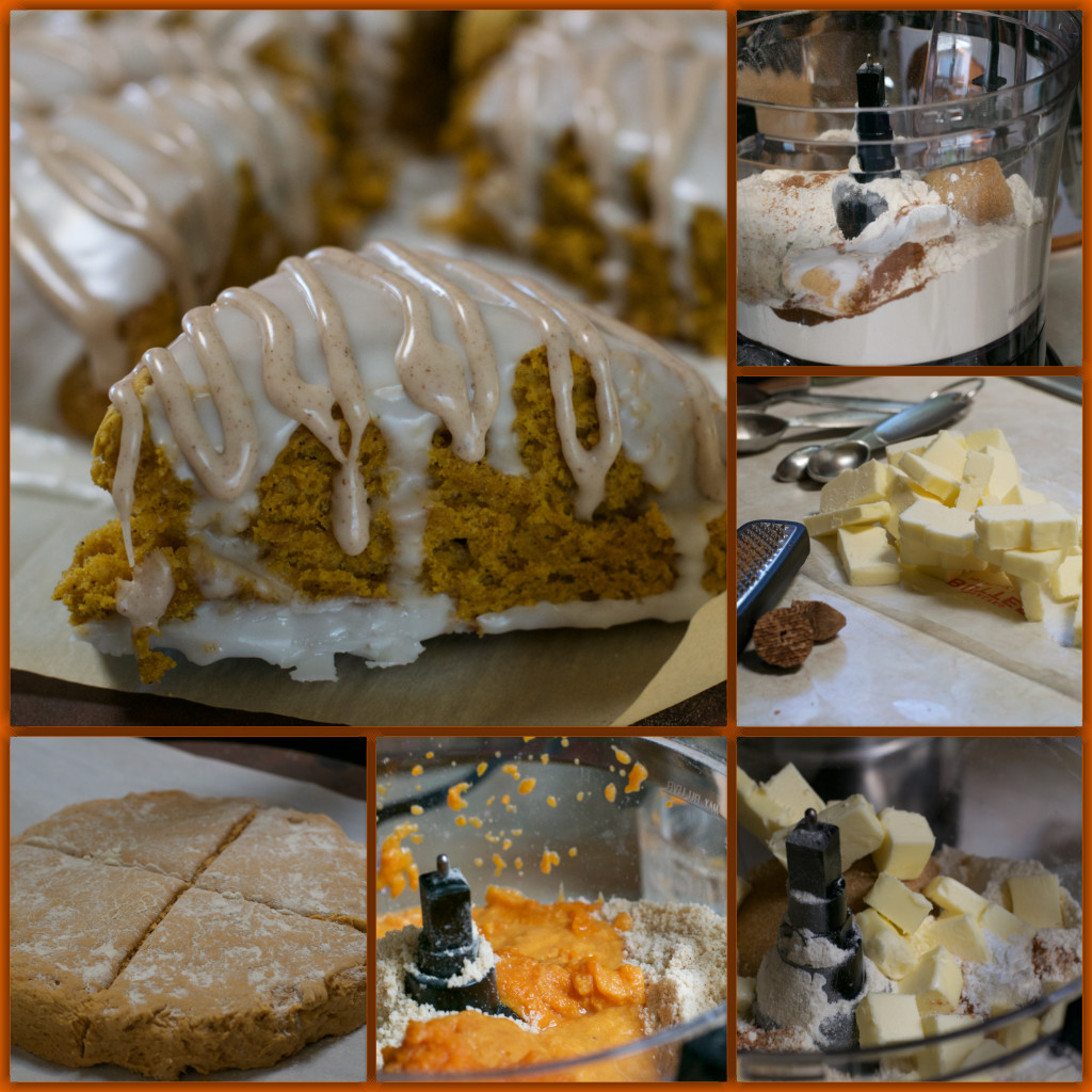 Starbucks Pumpkin Scones Copycat Recipe Collage