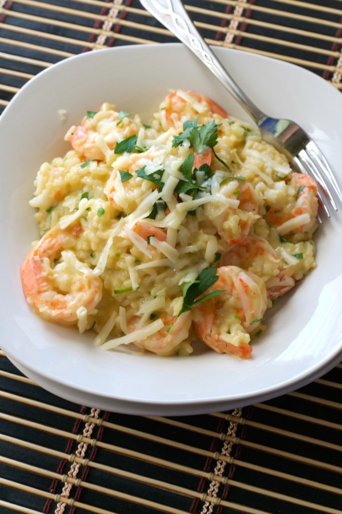 Asiago Shrimp Risotto 1