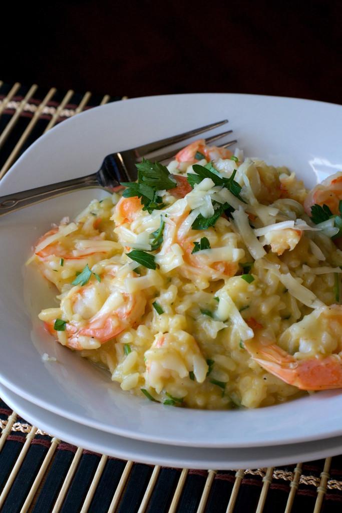 Asiago Shrimp Risotto 2