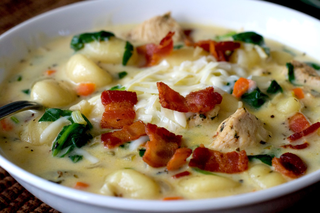 Chicken Gnocchi Soup 3