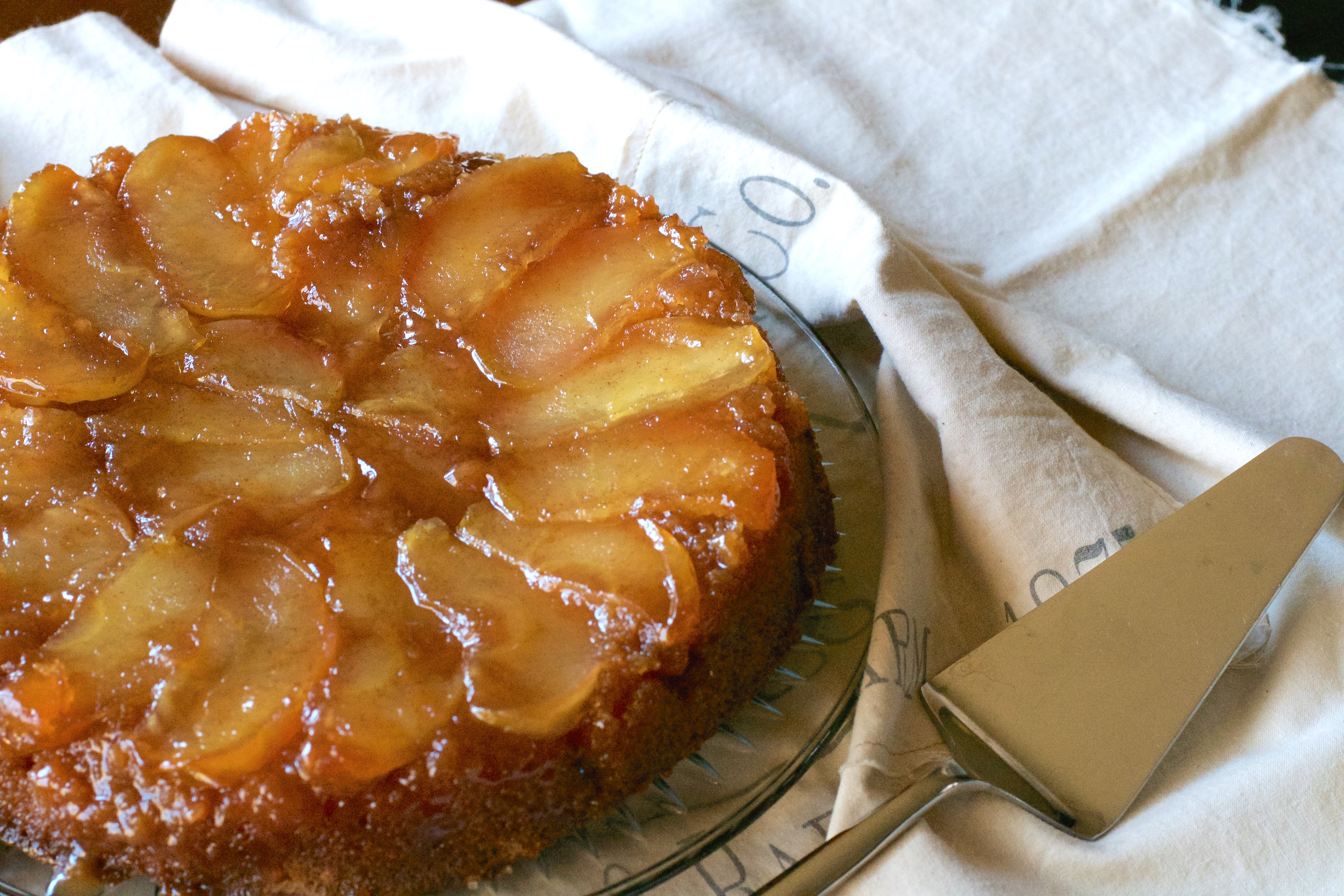 French Apple Cake Upside Down