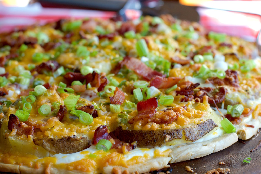 Potato Skin Pizza 5