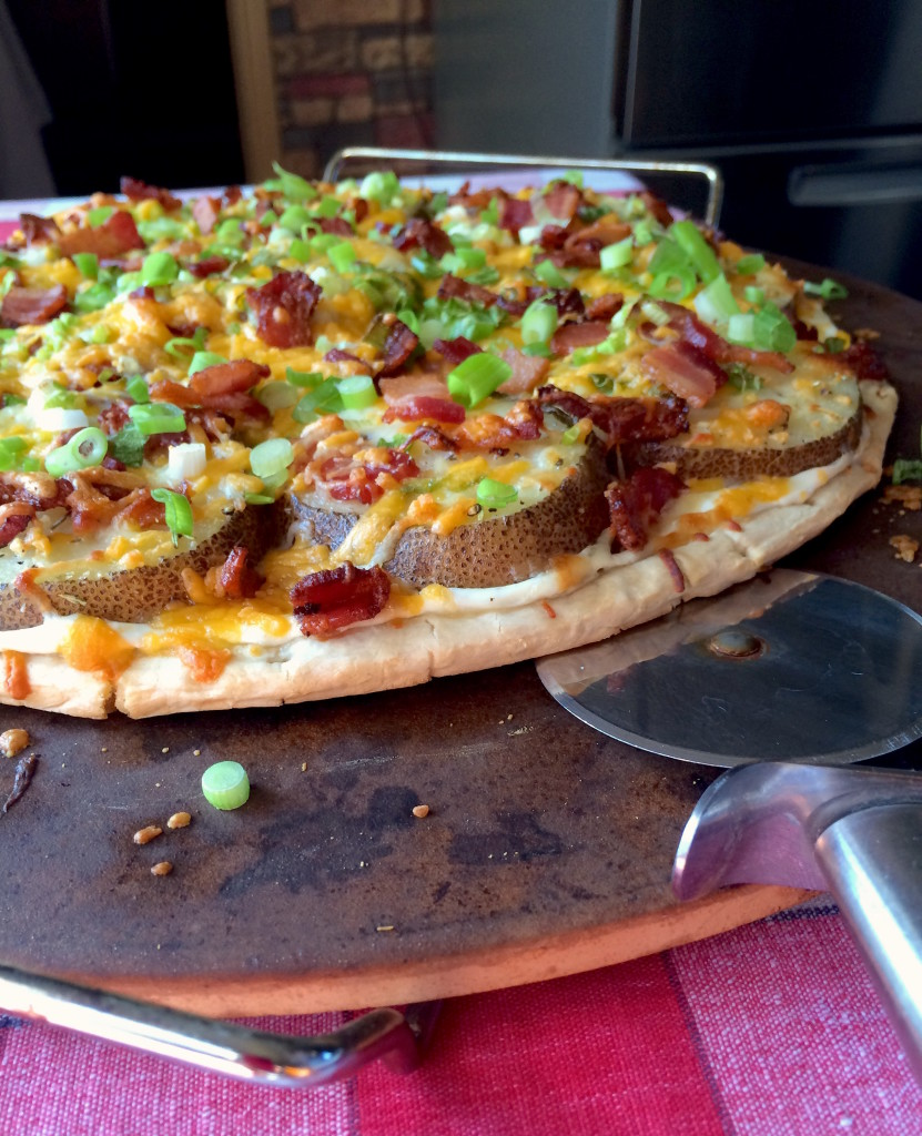 Potato Skin Pizza 6
