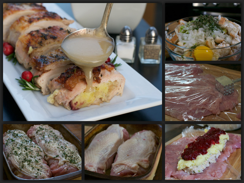 Thanksgiving Turkey Roll Collage