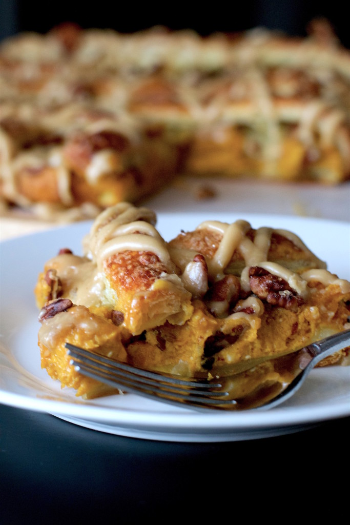 Caramel Pumpkin Puff Pastry 1