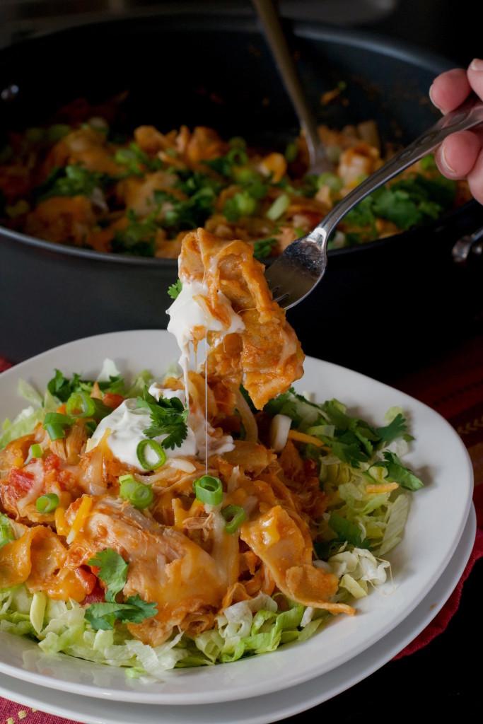 Chicken Enchilada Skillet 1