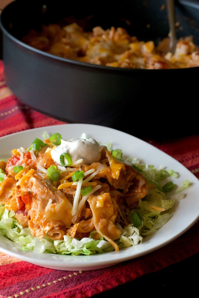 Chicken Enchilada Skillet 6