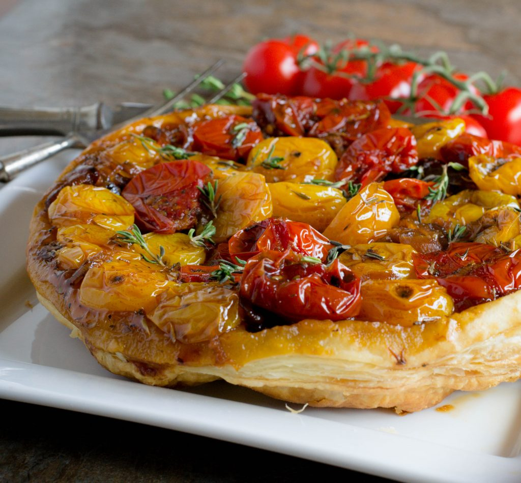Upside Down Tomato Tart 5
